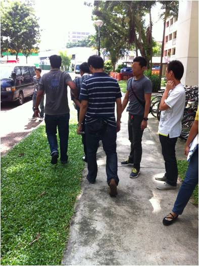 Suspects rounded up during CNB & SPF operation