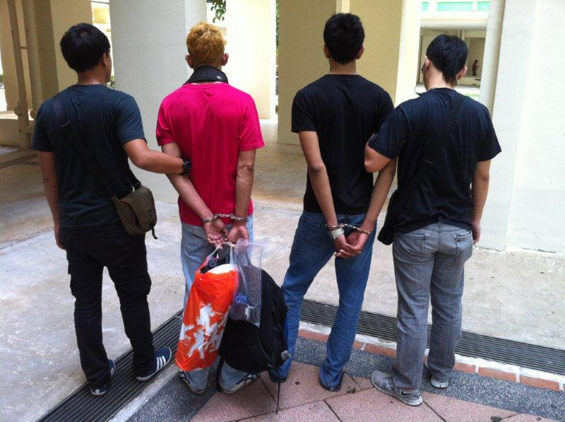 Suspect arrested by CNB