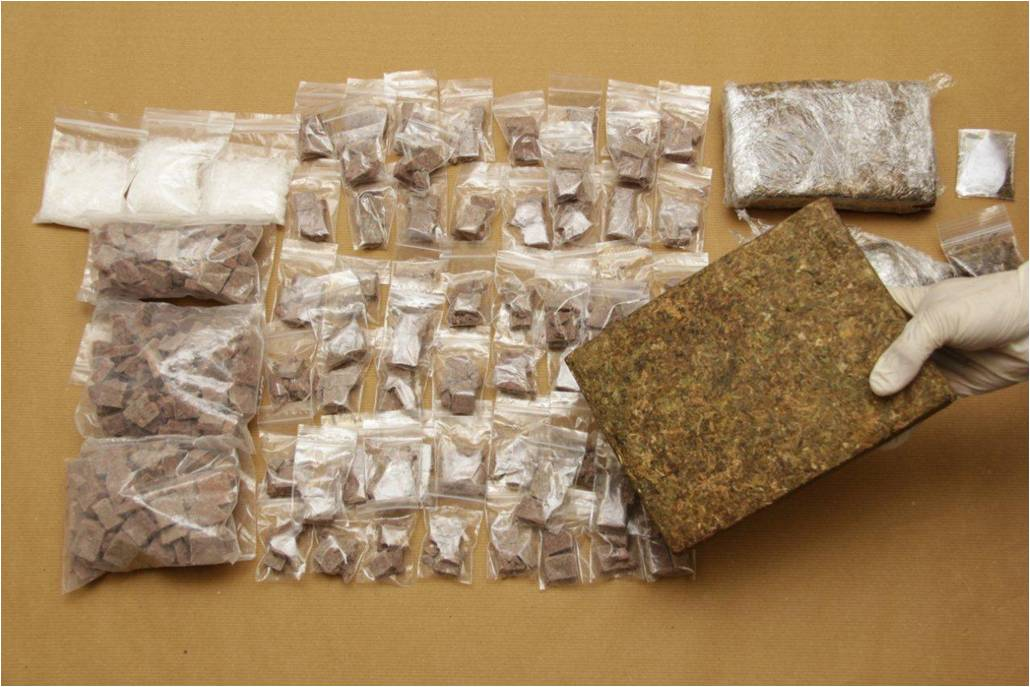 Photo 2: Drugs seized by CNB on 22 August 2013.
