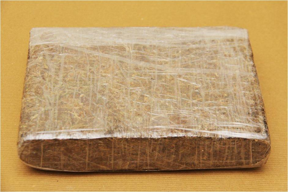 Cannabis seized at Woodlands Checkpoint on 22 November 2014