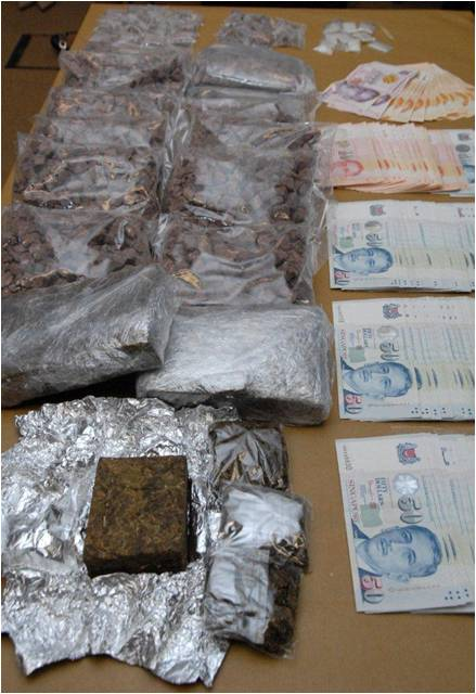 drug and money seized 2