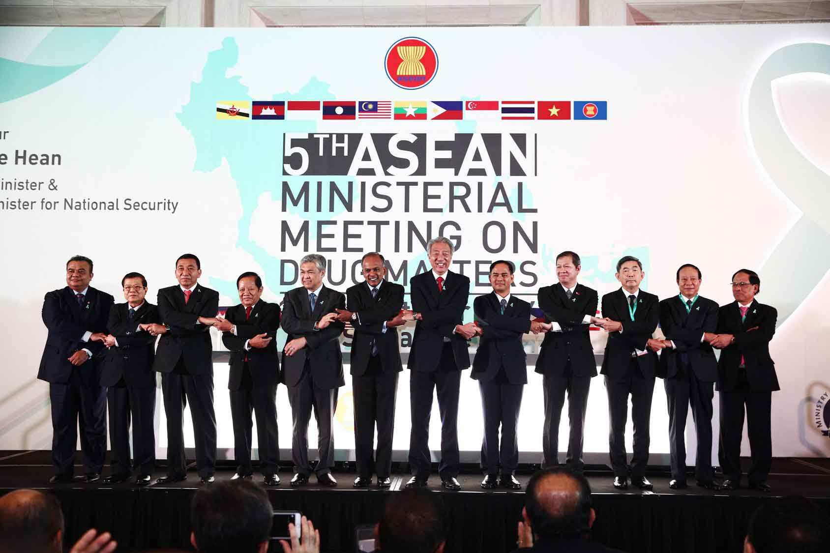 ASEAN ministers at the Opening Ceremony of the 5th AMMD