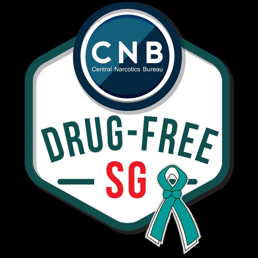 CNB Drug Free SG Logo