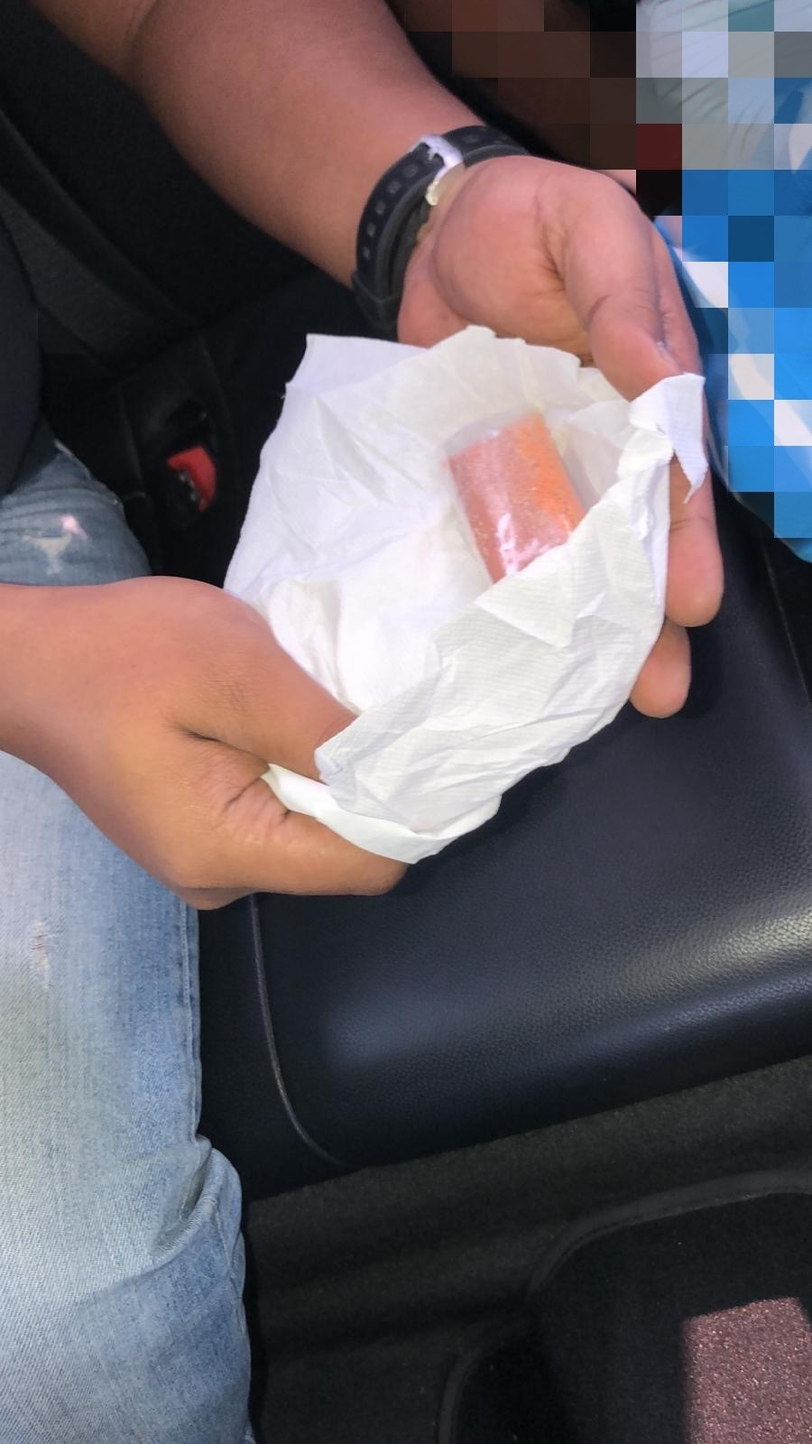 Photos- 1 and 2 (CNB): Brownish powdery substance recovered from CNB's operation at Ang Mo Kio Ave 3 on 16 September 2019.