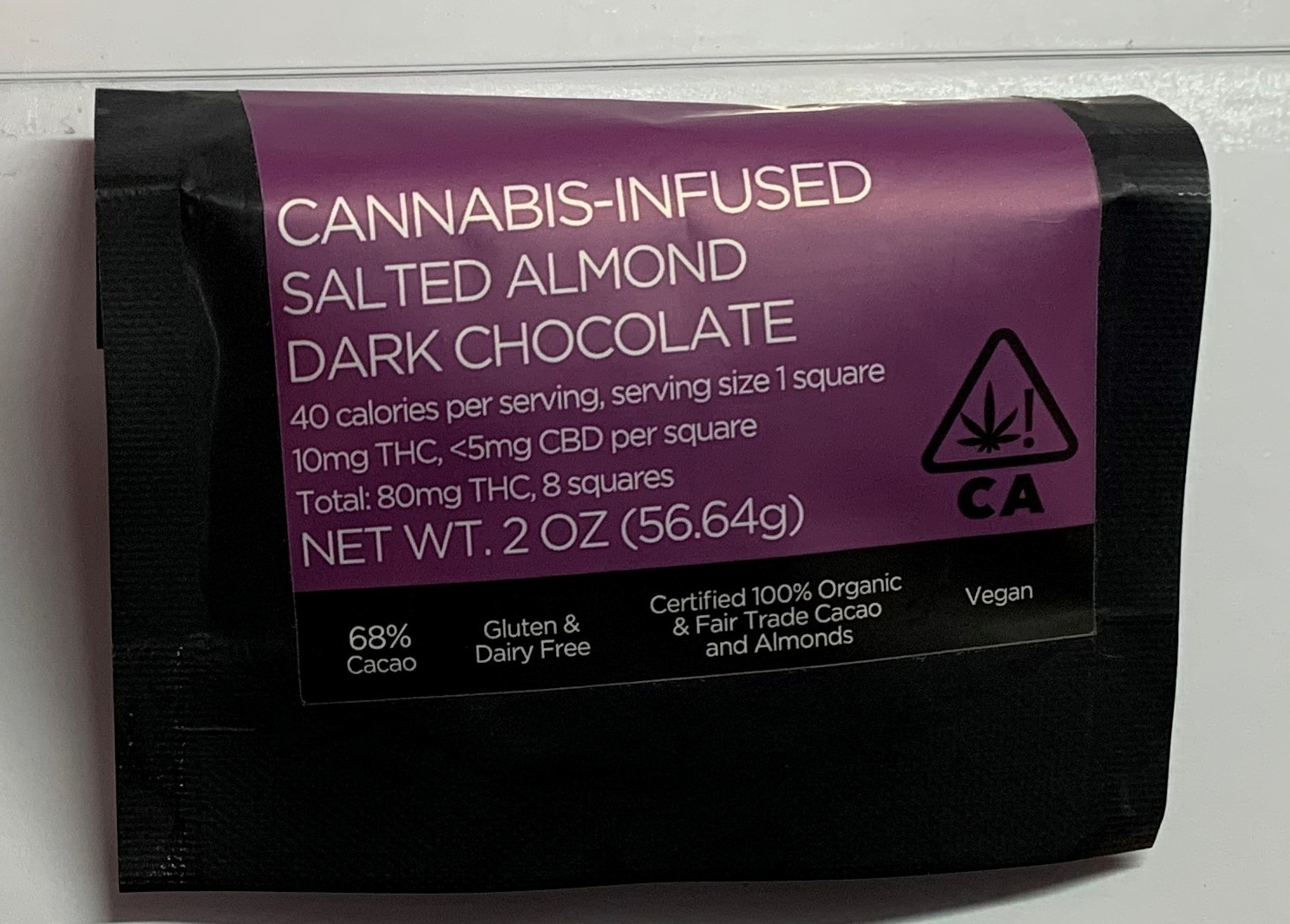 Photo 1 & 2 (CNB): Chocolate and strawberry taffies, believed to be infused with cannabis, found in CNB raid at Choa Chu Kang Loop, on 23 October 2019.