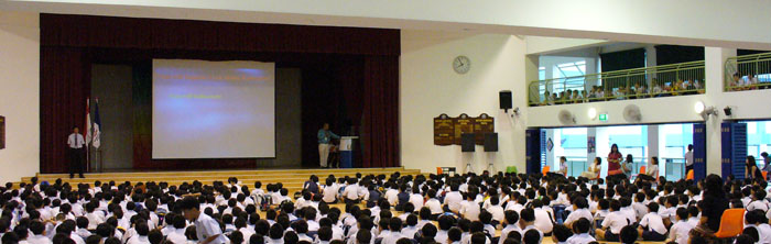 School Assembly Talk