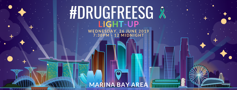 Drugfreesg LightUp 2019
