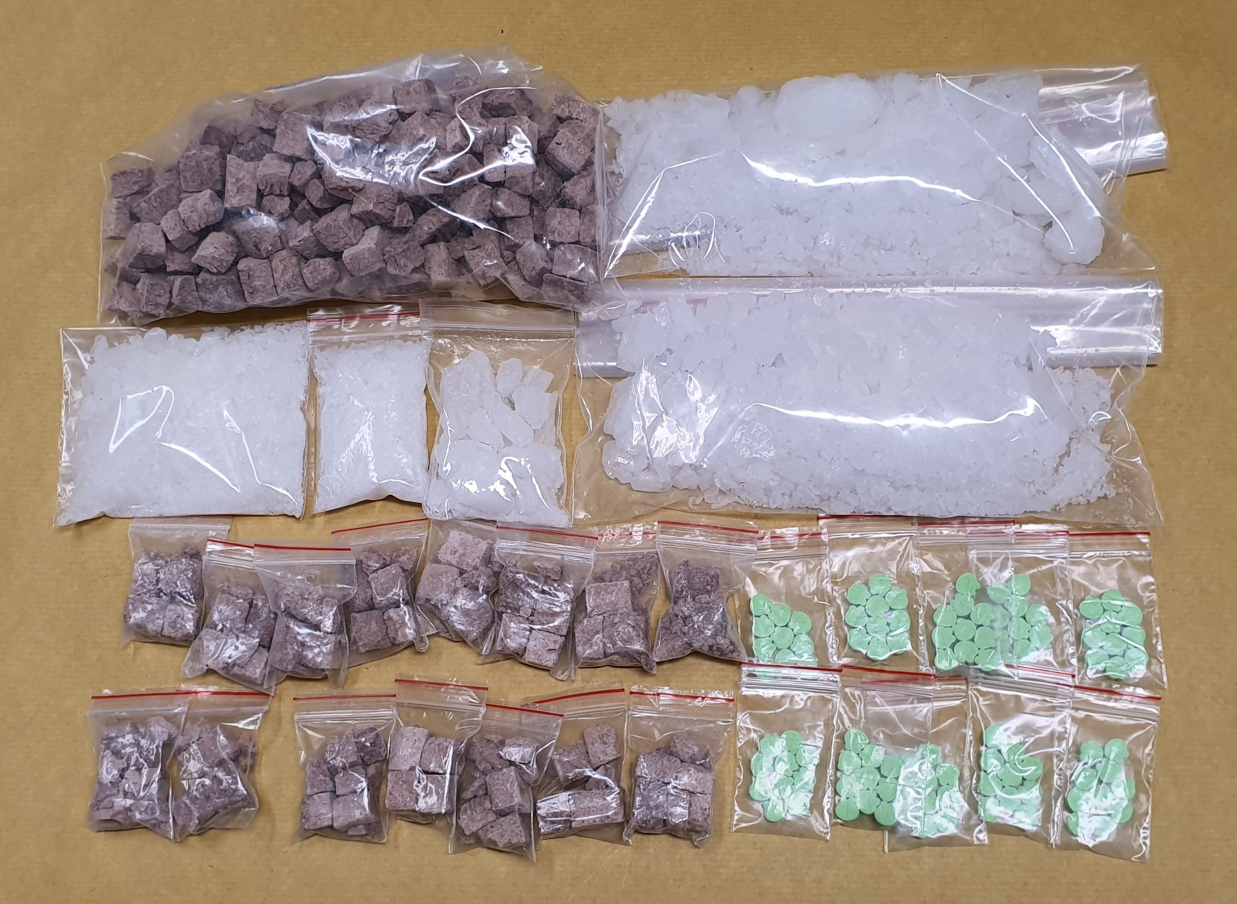 Some of the drugs seized in CNB operation on 11 February 2020