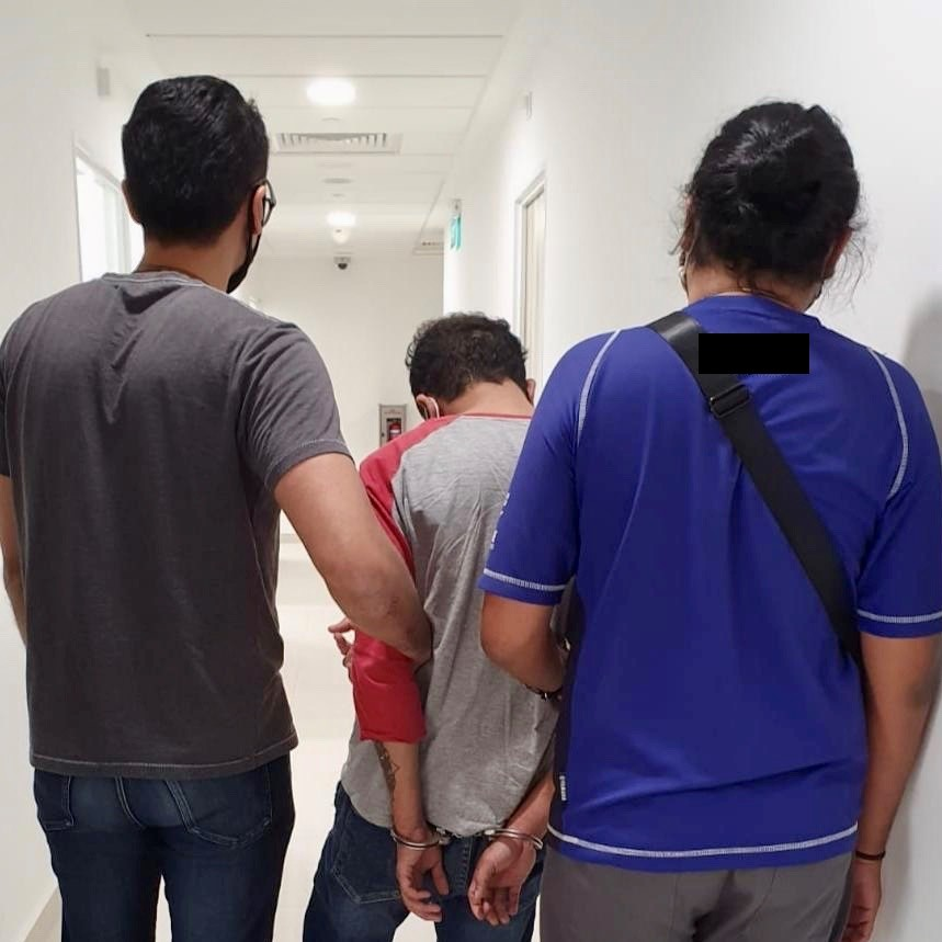 29yo Singaporean male arrested in the vicinity of Anchorvale Rd on 16 Sep 2020