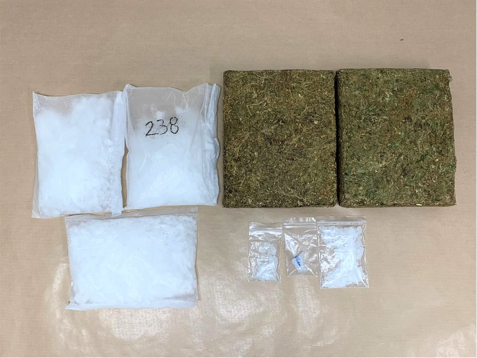CLOSE TO 7.5kg of ILLICIT DRUGS SEIZED; 3 ARRESTED FOR SUSPECTED DRUG ACTIVITIES