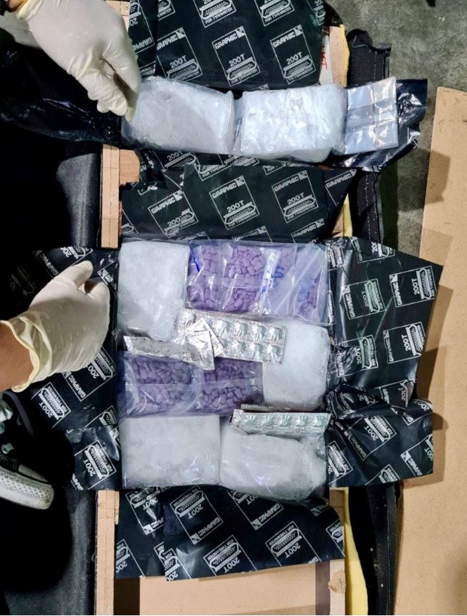 CLOSE TO 15KG OF DRUGS SEIZED AT WOODLANDS CHECKPOINT