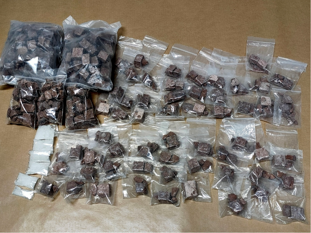 OVER 3KG OF HEROIN SEIZED; 02 SINGAPOREANS ARRESTED FOR SUSPECTED DRUG ACTIVITIES