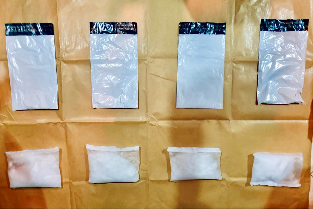 OVER 8KG OF ILLICIT DRUGS SEIZED;3 SINGAPOREANS ARRESTED FOR SUSPECTED DRUG ACTIVITIES